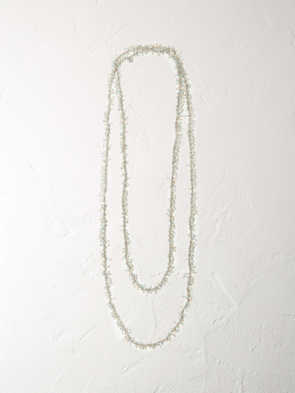 White Stuff Metal Mossy Necklace