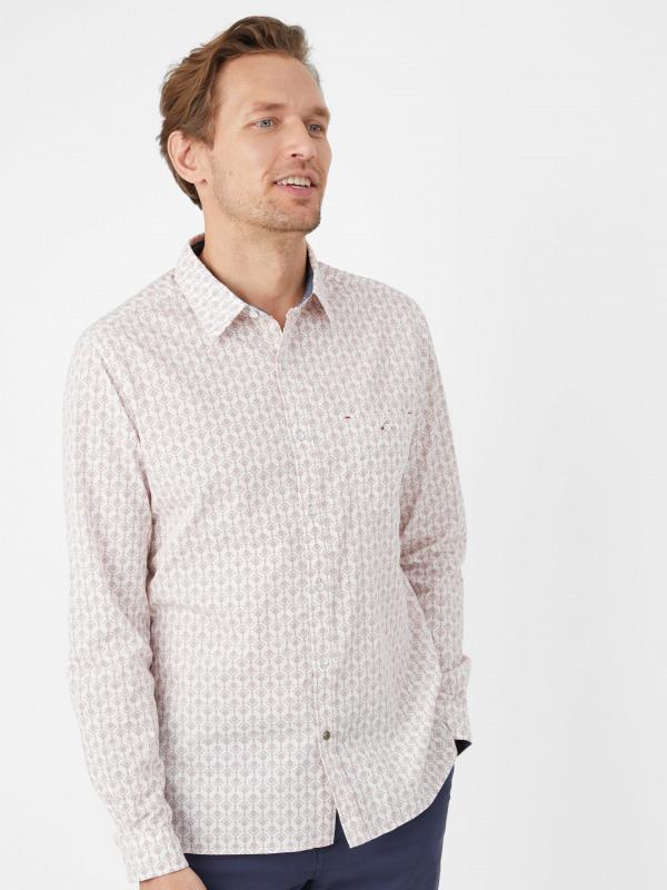 White Stuff Buckeye Print Ls Shirt