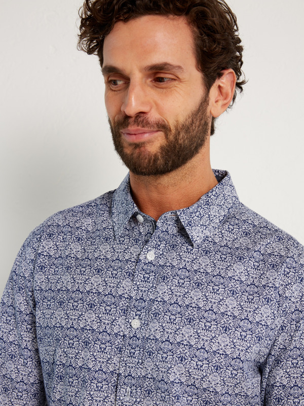 White Stuff Hickory Paisley Shirt