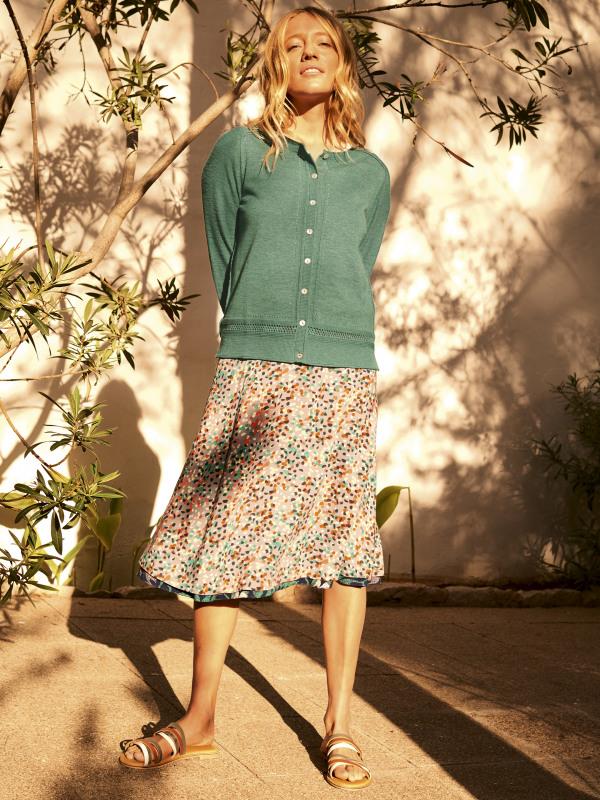 White Stuff Zapara Reversible Skirt