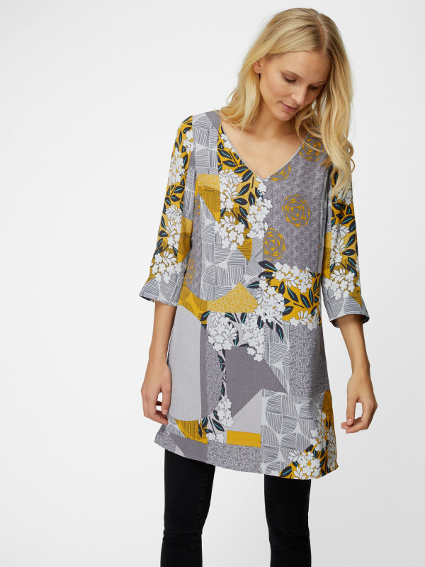 White Stuff Greta Patch It Tunic
