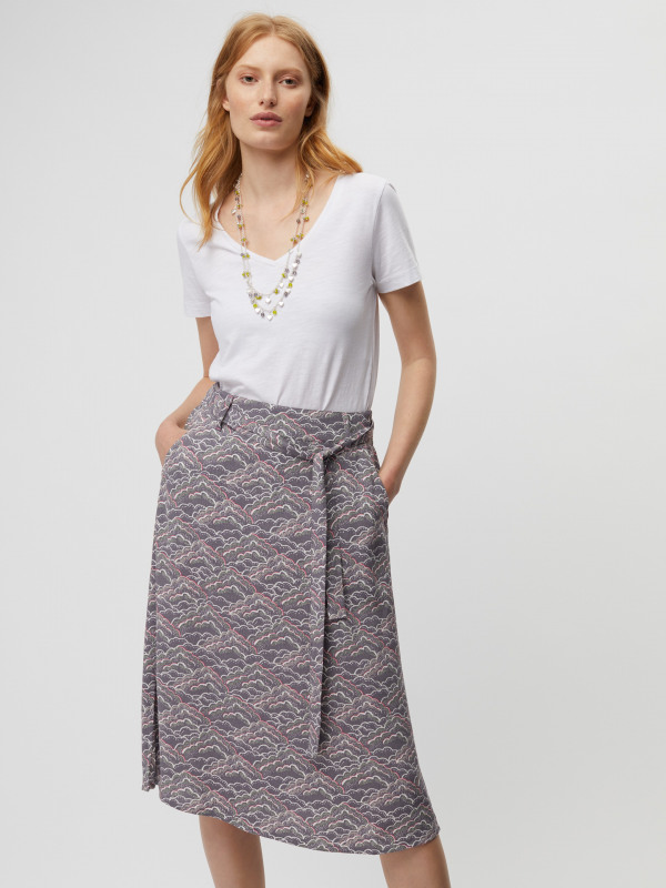 White Stuff Claudine Print Skirt
