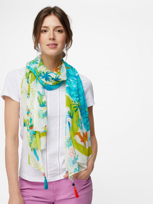 White Stuff Road Tripping Scarf