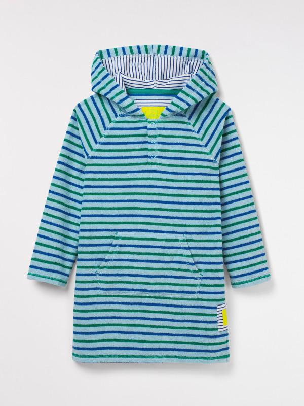 White Stuff Stripe Towelling Pullover