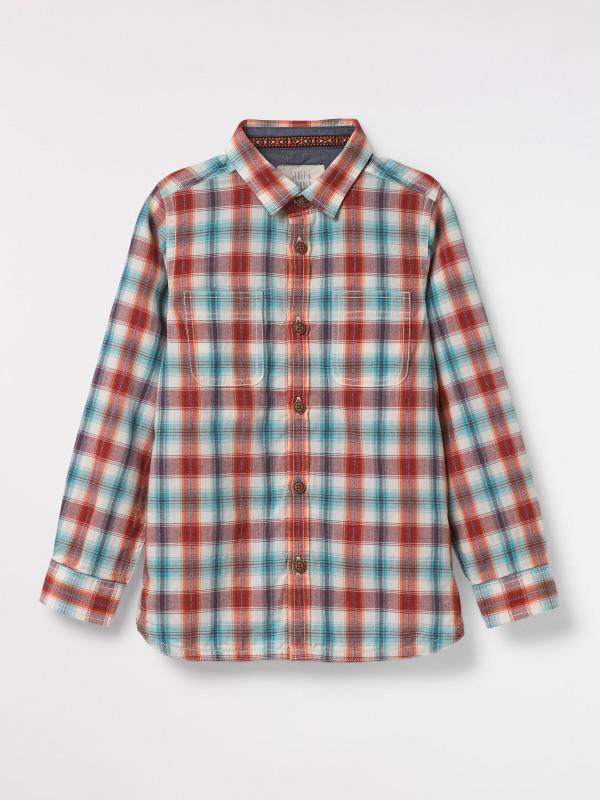 White Stuff Slickrock Check Shirt Mini