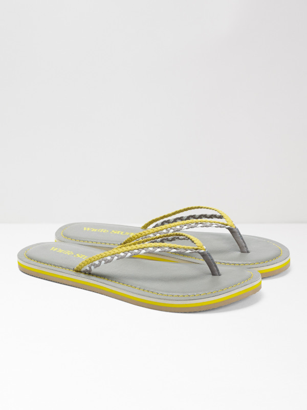 White Stuff Fliss Leather Flip Flop