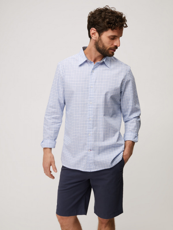 White Stuff Spacer Check Shirt
