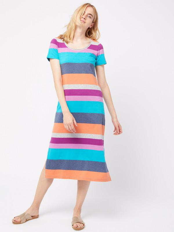 White Stuff Jennie Stripe Dress