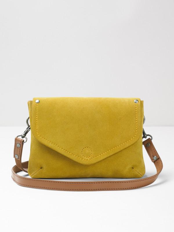 White Stuff Josie Suede Crossbody Bag