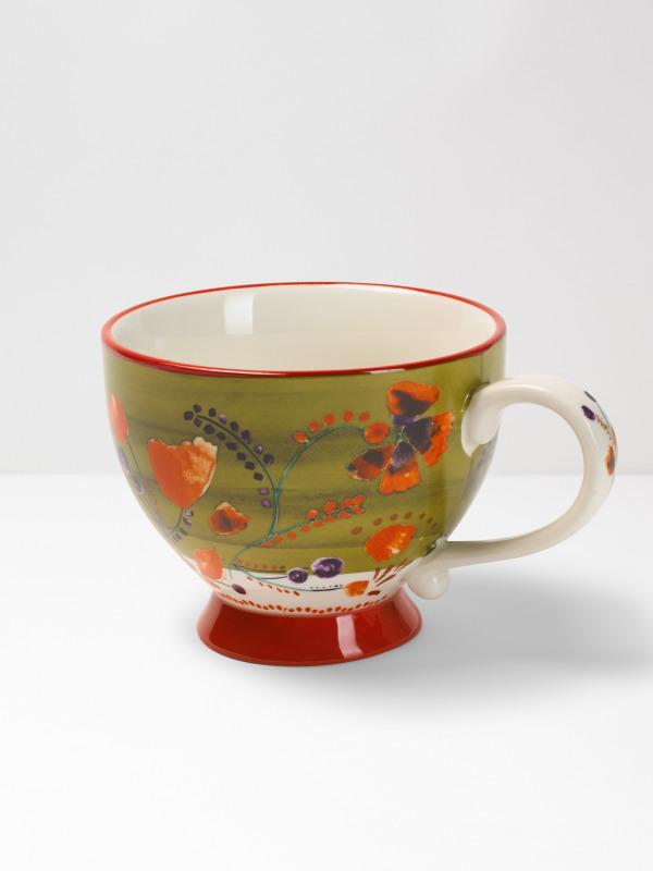 White Stuff Decorative Mug