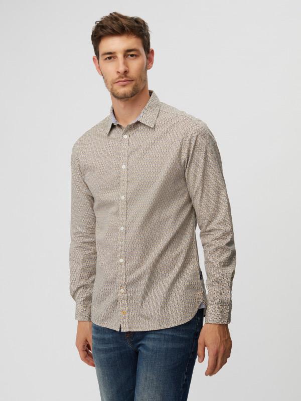 White Stuff Belay Geo Shirt
