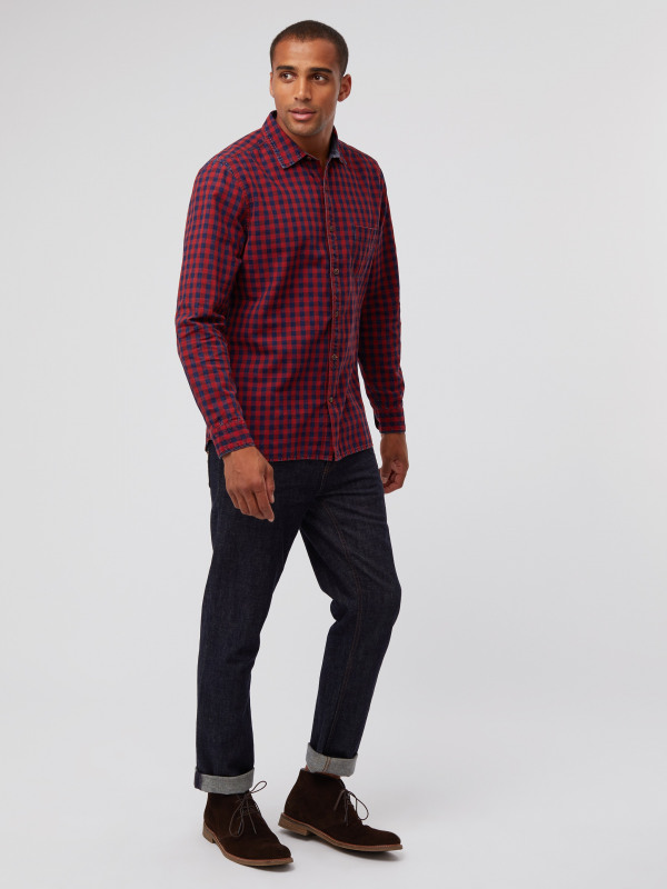 White Stuff Railroad Check Shirt