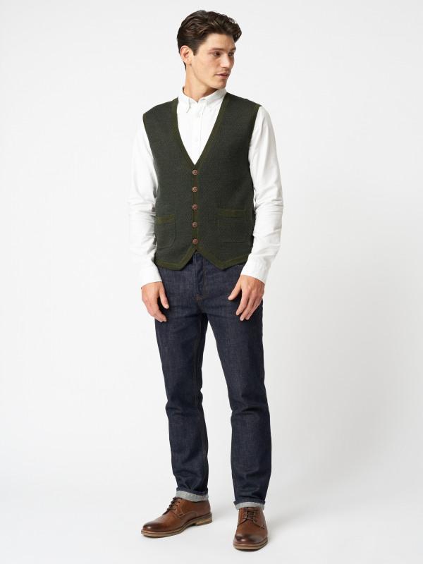 White Stuff Quinault Merino Waistcoat