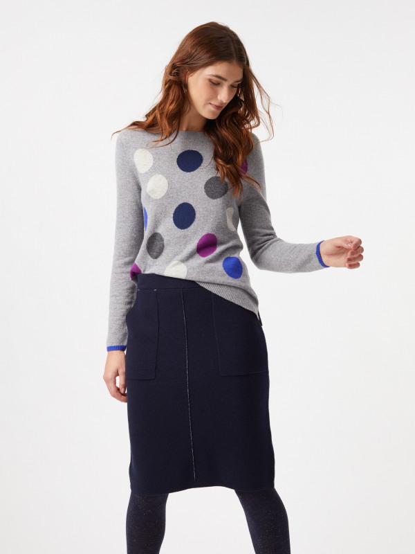 White Stuff Meda Knit Pencil Skirt