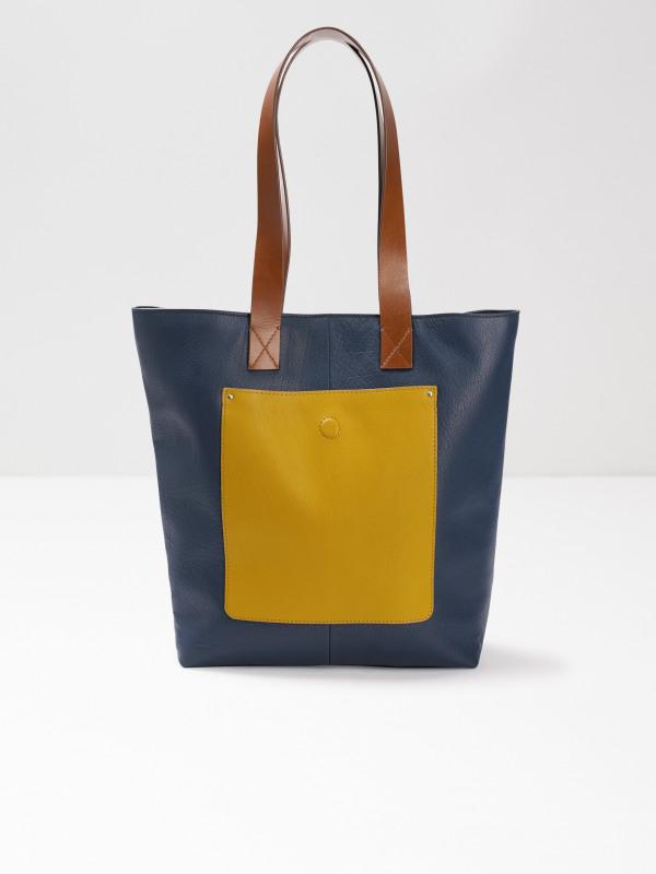 White Stuff Bella Colourblock Tote Bag