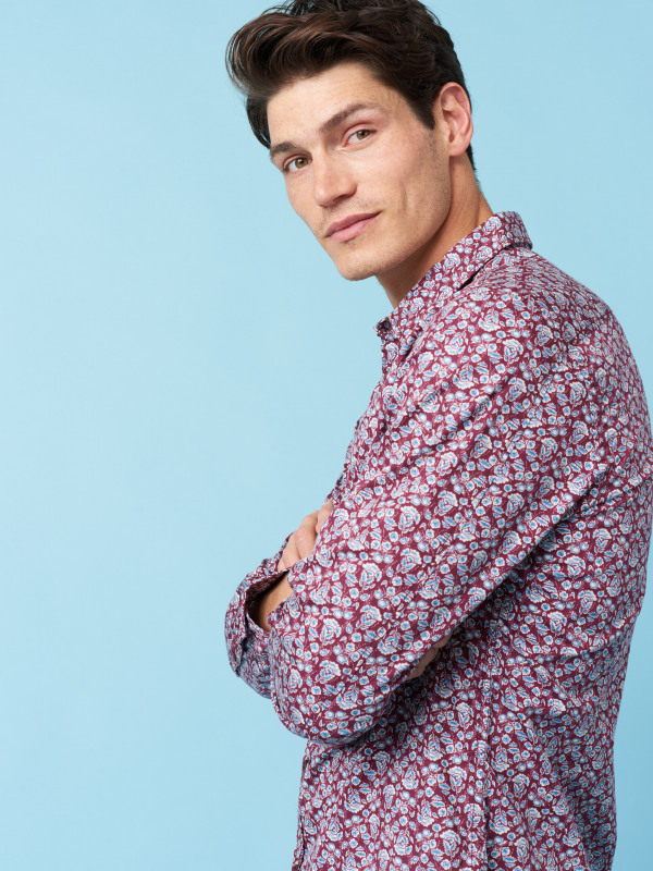 White Stuff Statice Paisley Shirt