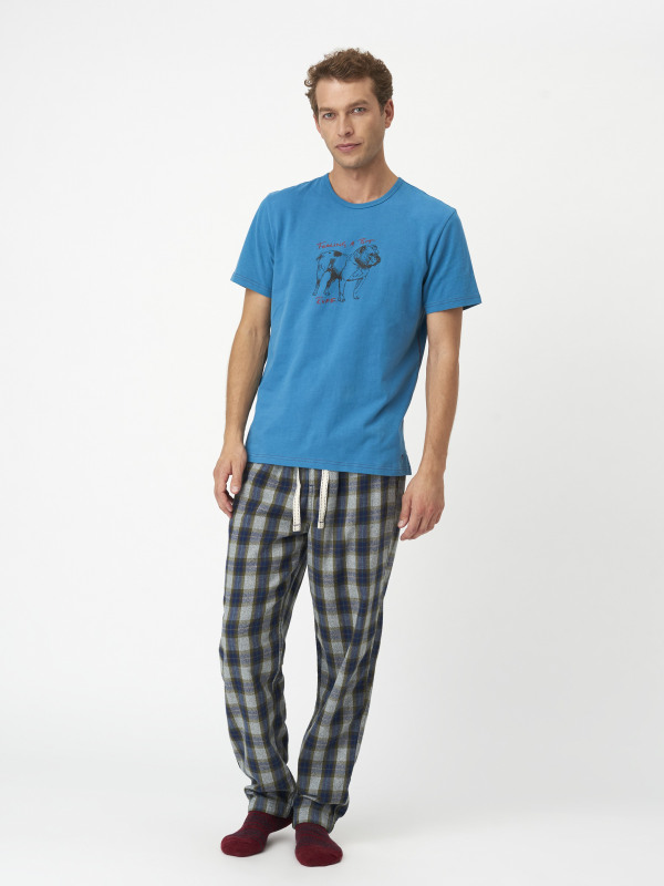 White Stuff Mountain Check Lounge Pant
