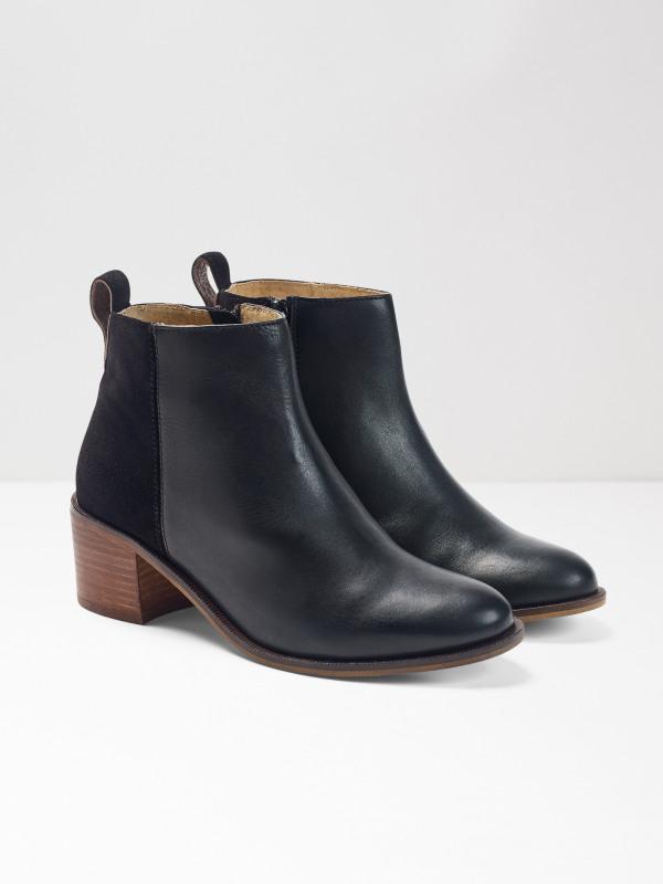 White Stuff Ella Block Heeled Boot