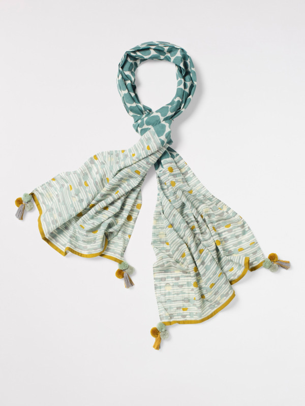 White Stuff Straight From The Heart Scarf