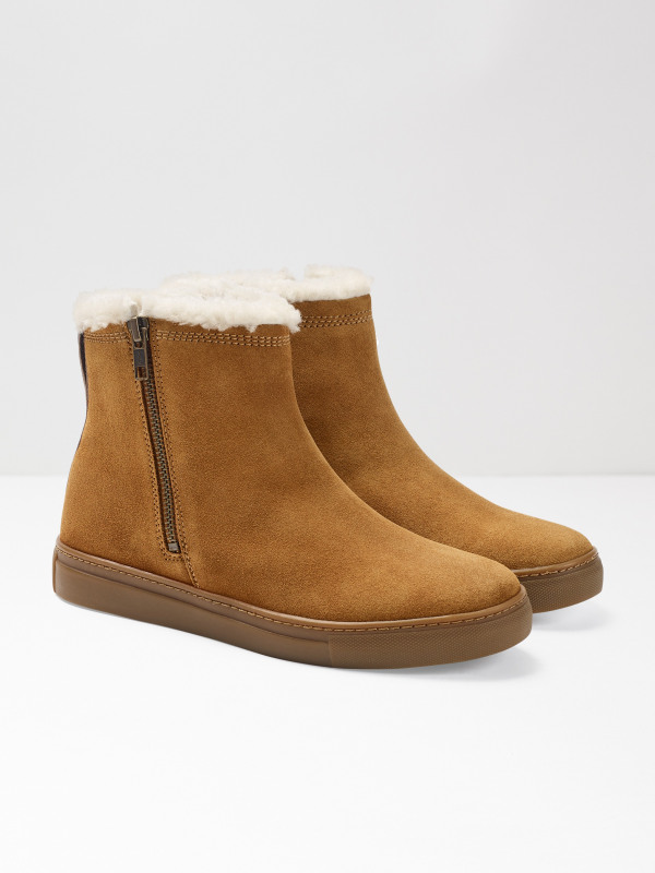 White Stuff Imogen Casual Shearling Boot