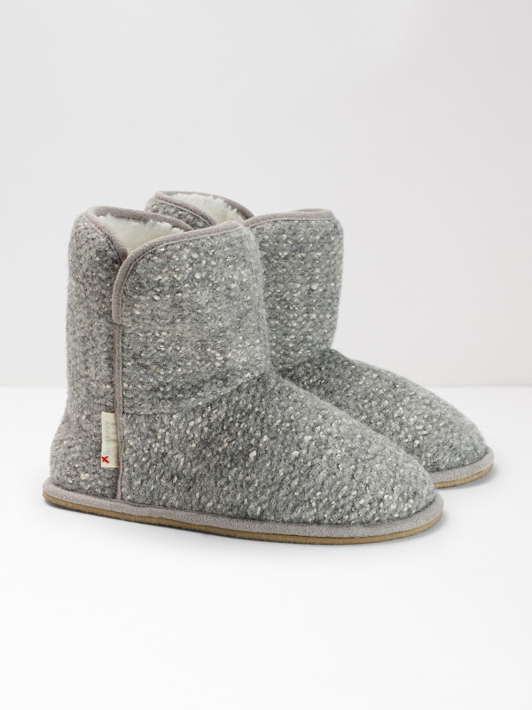 White Stuff Mia Textured Neutral Bootie