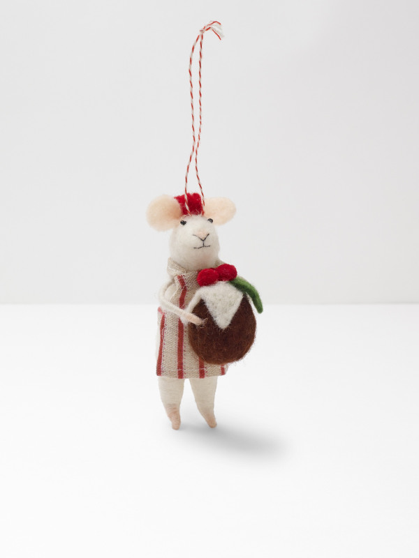 White Stuff Christmas Cook Mouse