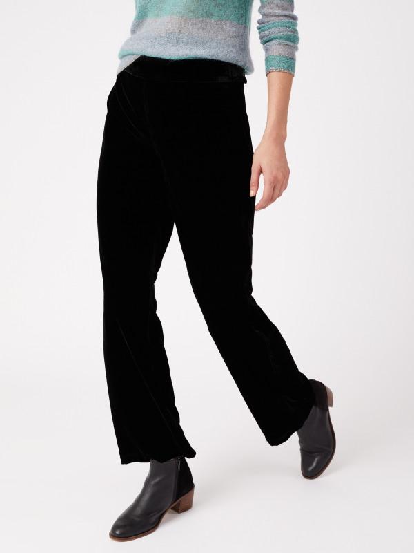 White Stuff Black Magic Velvet Trouser