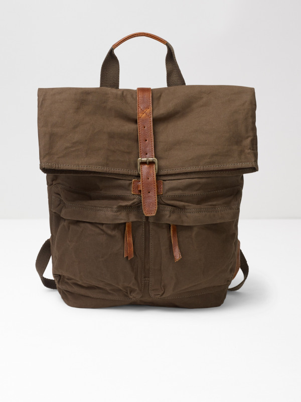 White Stuff Jack Canvas Back Pack