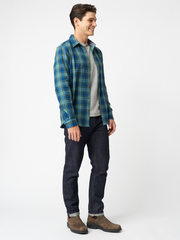White Stuff Tiler Flannel Check Shirt