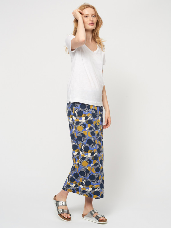 White Stuff Domino Maxi Jersey Skirt
