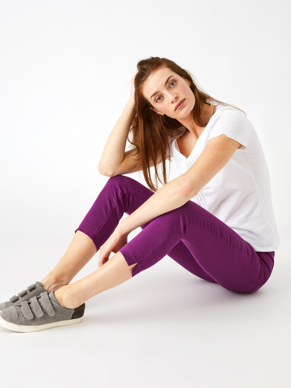 White Stuff Jade Jegging Coloured Capri