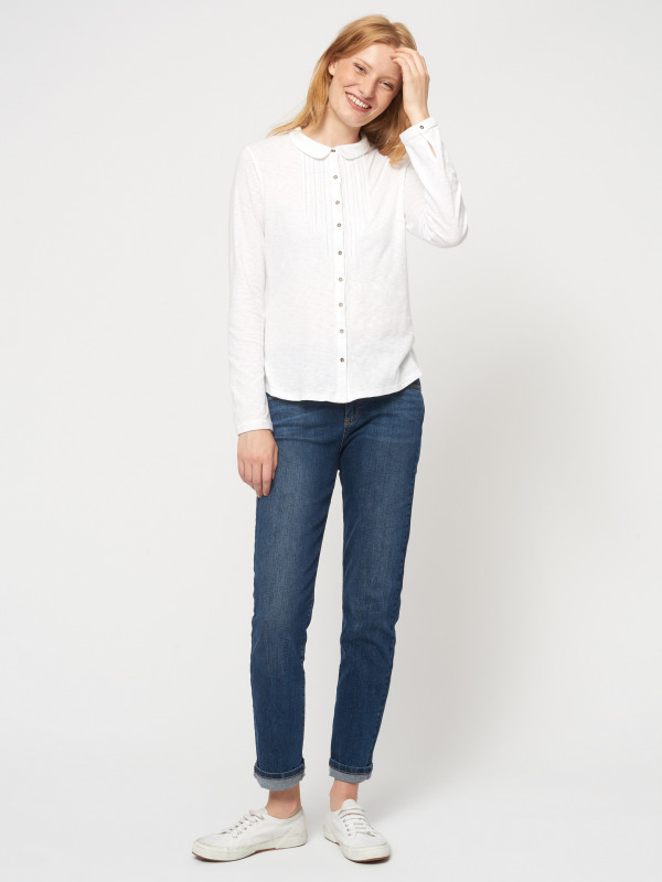 White Stuff Marigold Dream Jersey Shirt
