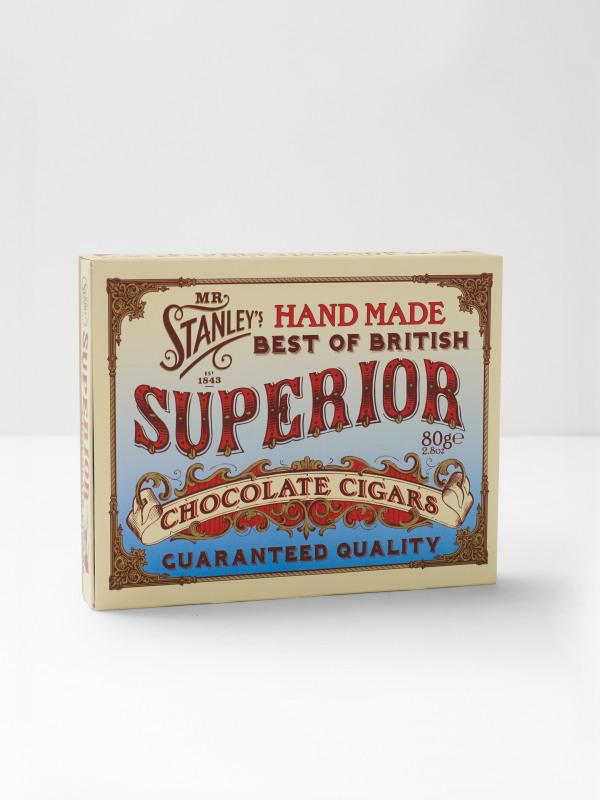 White Stuff Chocolate Cigars