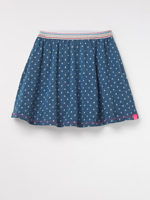 White Stuff Indie Spot Jersey Skirt