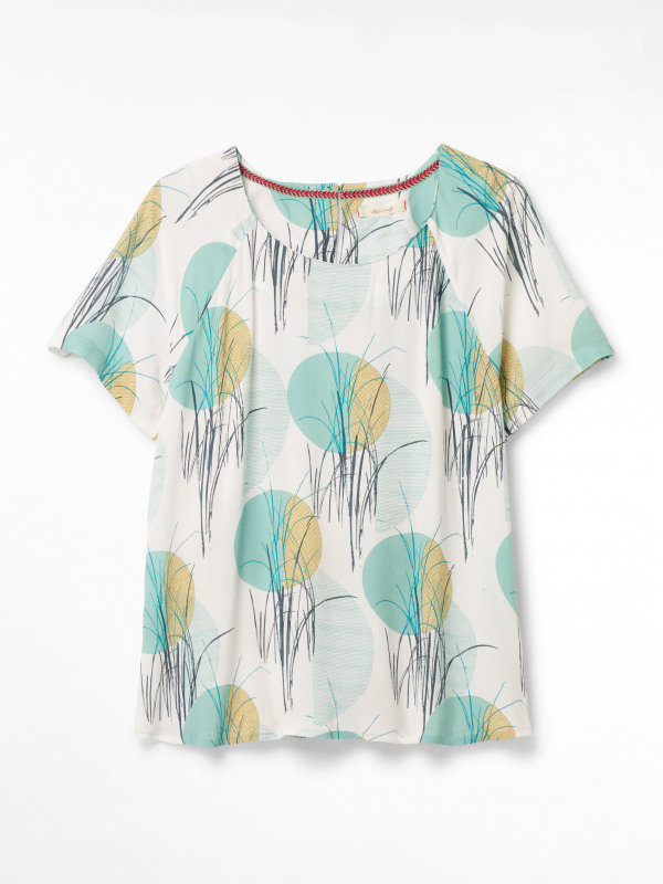 White Stuff Papyrus Top
