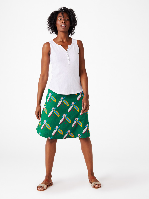 White Stuff Blossomseed Reversible Skirt