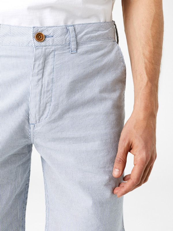 White Stuff Banbury Stripe Chino Short