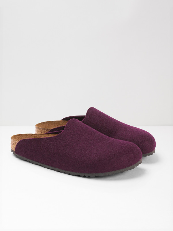 White Stuff Birkenstock Felt Slipper