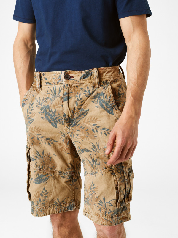 White Stuff Dartmoor Printed Cargo Short