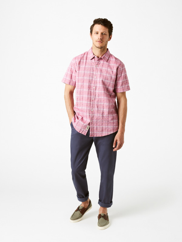 White Stuff Bethal Check Short Sleeve Shirt