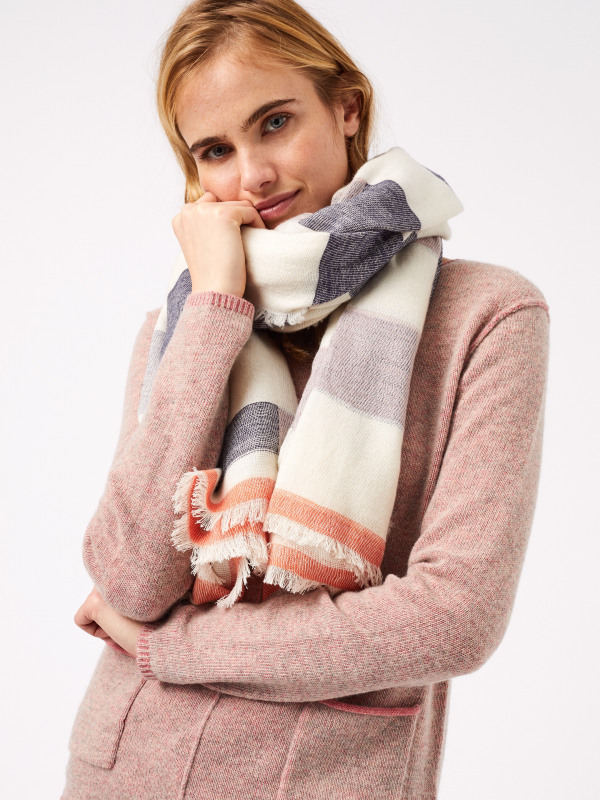 White Stuff Casual Midweight Scarf