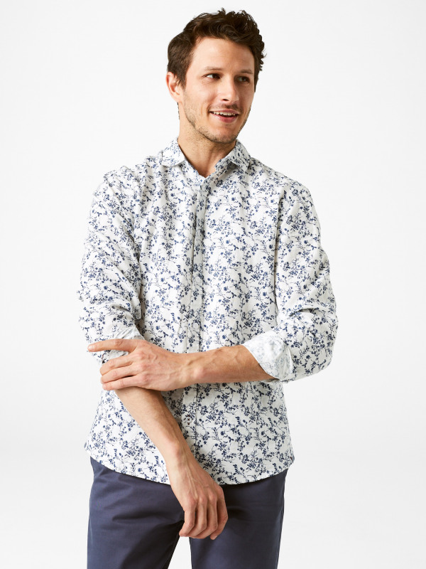 White Stuff Elim Print Shirt