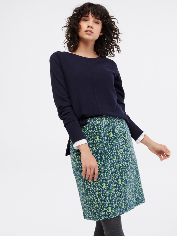 White Stuff Clocktower High Tide Skirt