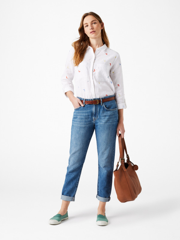 White Stuff Maple Boyfriend Jean