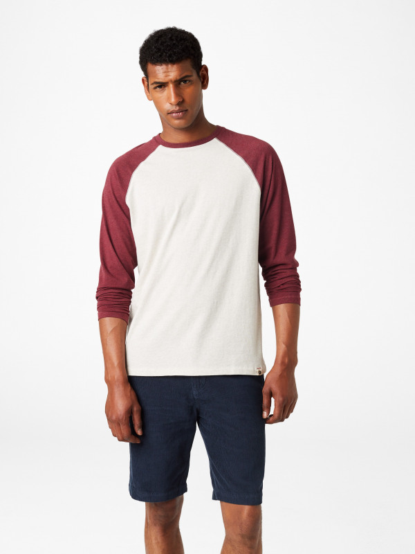 White Stuff Robbie Raglan Long Sleeve Tee
