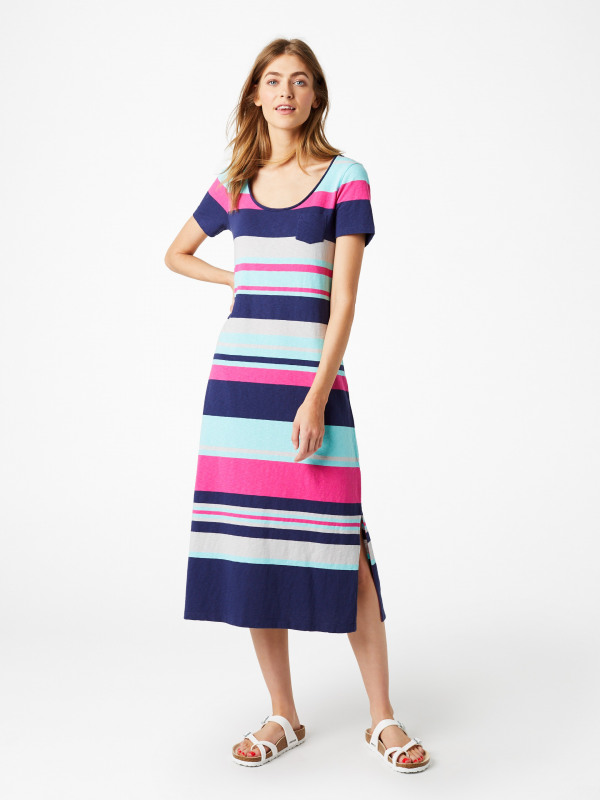 White Stuff Jennie Stripe Dress