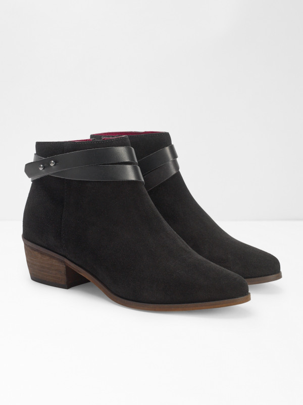 White Stuff Sarah Strappy Cuban Ankle Boot