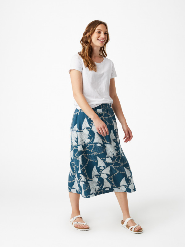 White Stuff Nara Reversible Skirt