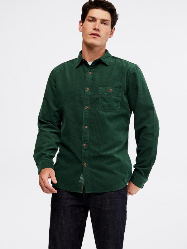 White Stuff Parkway Cord Shirt