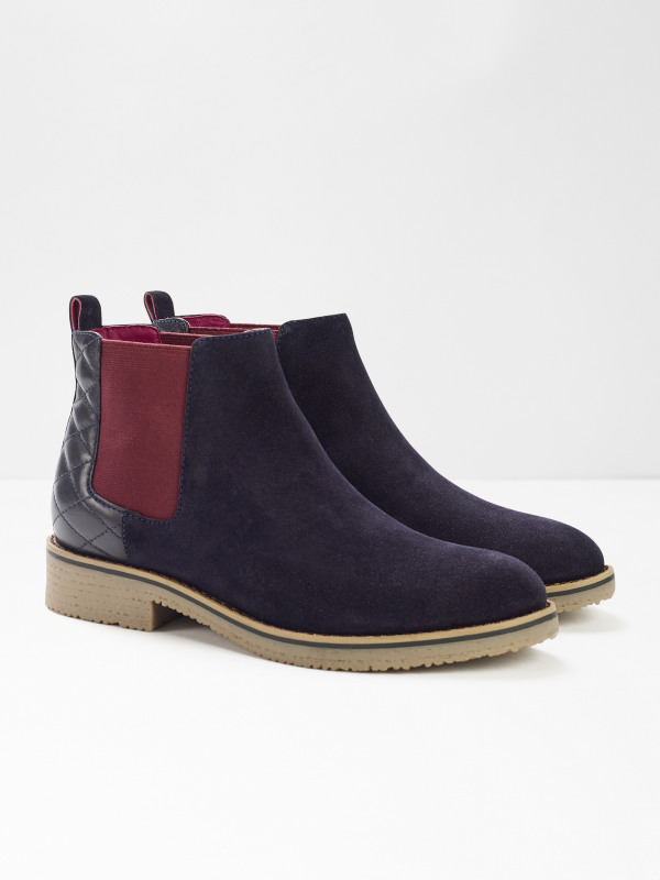 White Stuff Laney Quilted Chelsea Boot